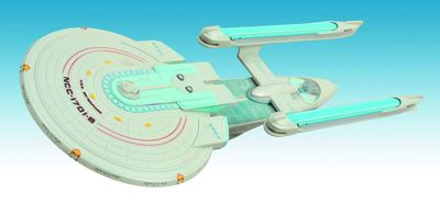 Star Trek Enterprise B Ship AUG121760U