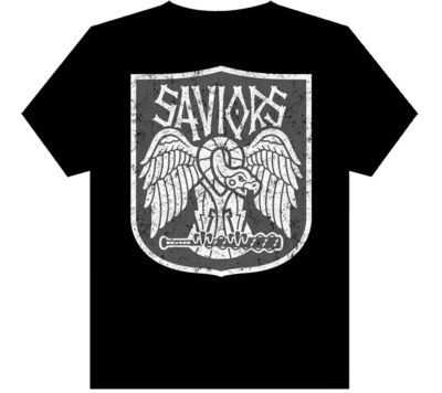 Image of Walking Dead Saviors T-Shirt Womens XL