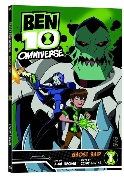 Ben 10 Omniverse GN Vol. 01 Ghost Ship AUG131402E