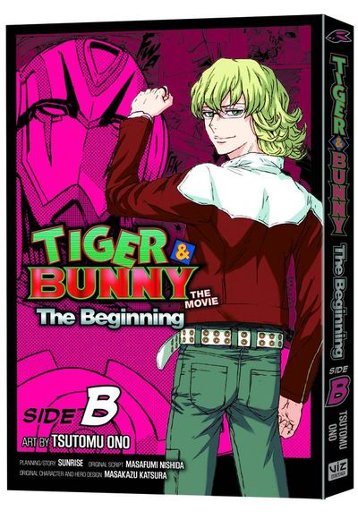 Tiger & Bunny Beginning GN Vol. 02 Side B AUG131520E