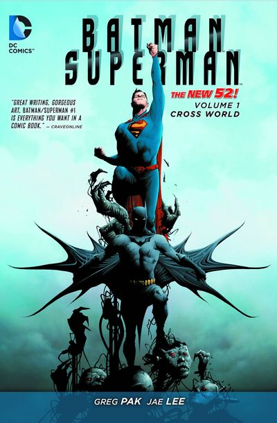 Batman Superman TPB Vol. 01 Cross World AUG140333D