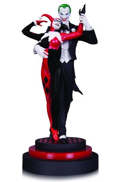Joker And Harley Quinn Statue