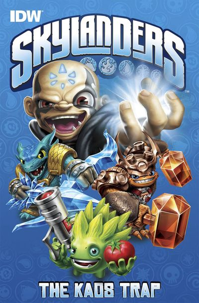 Skylanders The Kaos Trap HC AUG140408E