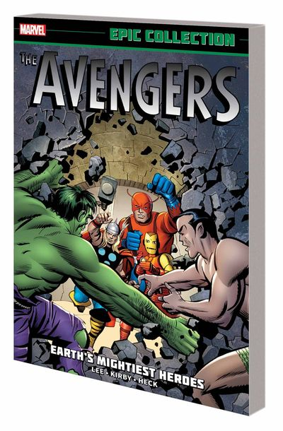 Avengers Epic Collection TPB Earths Mightiest Heroes AUG140905D