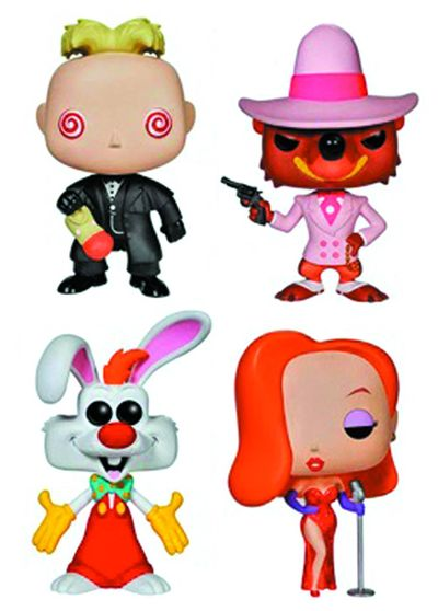 Pop Roger Rabbit Jessica Rabbit Vinyl Figure