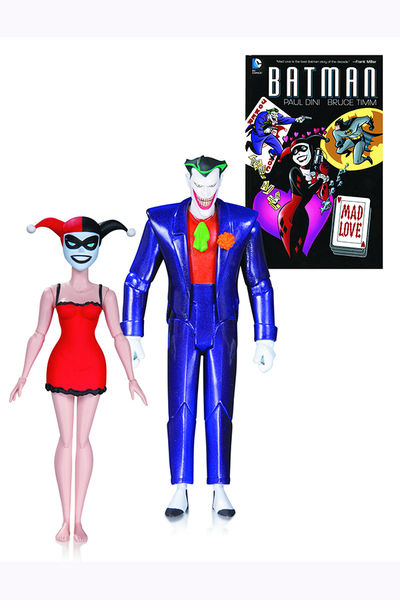 Batman Animated Mad Love Joker & Harley Quinn 2 Pk Action Figure AUG150311Y