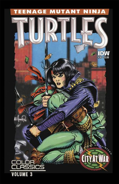Teenage Mutant Ninja Turtles Color Classics Series 3 #10 AUG150337E