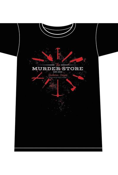 Image of Nailbiter Murder Store XXL Mens T-Shirt