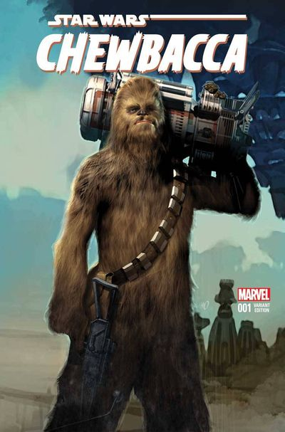 Chewbacca #1 (of 5) (Olivetti Variant Cover Edition)