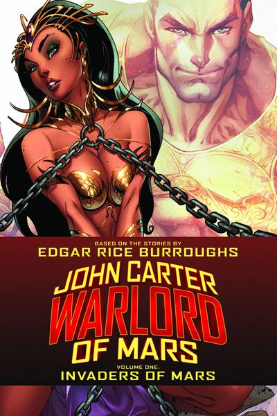 John Carter Warlord TPB Vol. 01 Invaders Of Mars