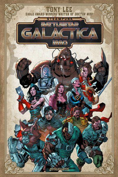 Steampunk Battlestar Galactica 1880 TPB