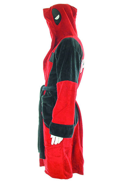 Marvel Deadpool Hooded Fleece Robe