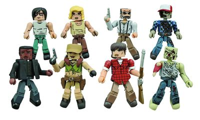 Walking Dead Minimates Series 8 Assortment AUG152324U