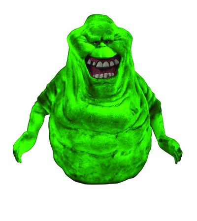 Ghostbusters Slimer Glow-in-the-Dark Bank AUG152325U