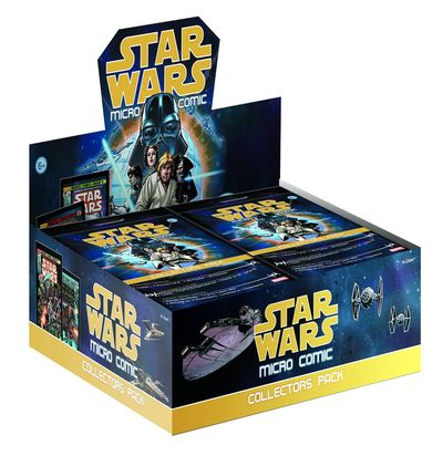 Star Wars Micro Comic Collectors Pack AUG152379J
