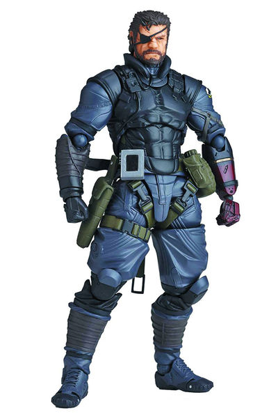 Metal Gear Solid V Phantom Pain Venom Snake Sneaking Suit Version Action Figure AUG158301I