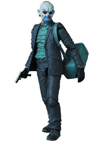 Dark Knight The Joker Previews Exclusive Miracle Action Figure (Bank Robber Version) AUG158611U