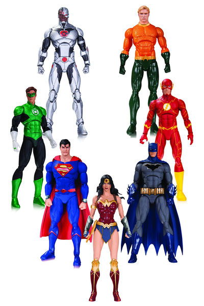 DC Rebirth Justice League Action Figure 7 Pack AUG160372Y