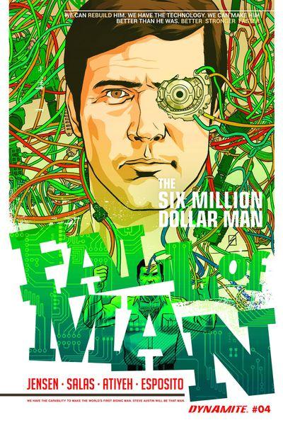 Six Million Dollar Man Fall #4 (of 5)