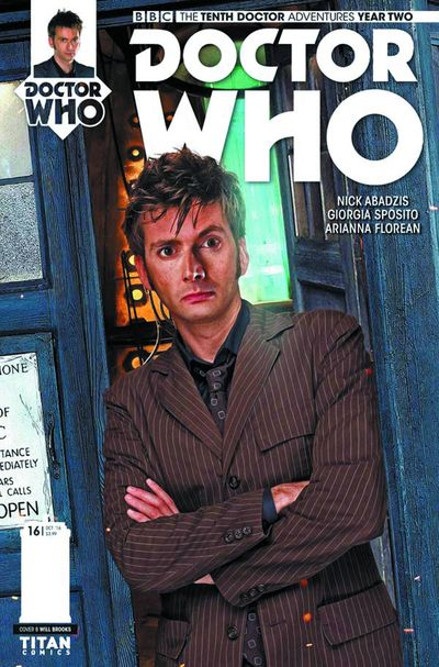 Doctor Who 10th Year 2 #16 (Cover B - Photo) AUG161891F