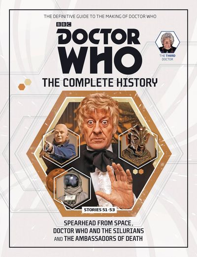 Doctor Who Comp Hist HC Vol. 24 3rd Doctor Stories 51-53 AUG162232H