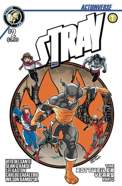 Actionverse Ongoing #2 Stray (Cover C - Cabaleiro)