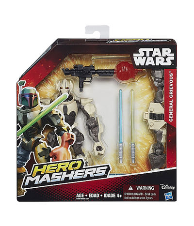 Star Wars Hero Mashers Episode III General Grievous Figure B3669