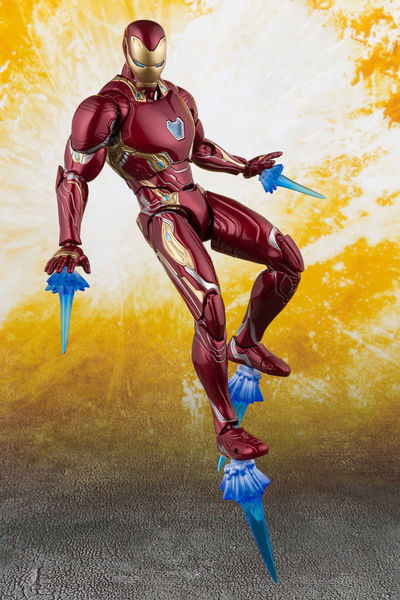 Avengers Infinity War Iron Man MK50 S.H.Figuarts Action Figure BAN24774