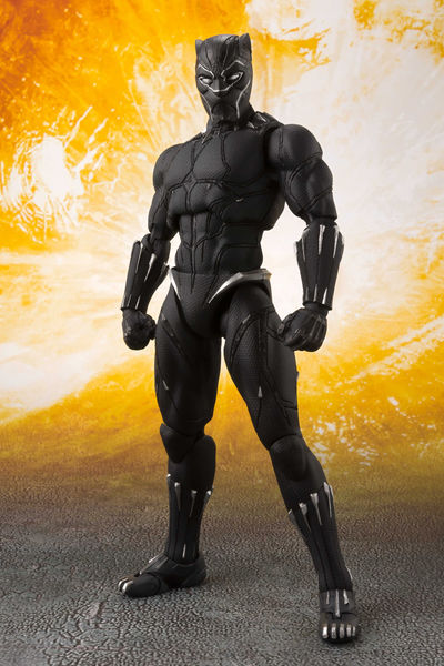 Avengers Infinity War Black Panther S.H.Figuarts Action Figure BAN29128