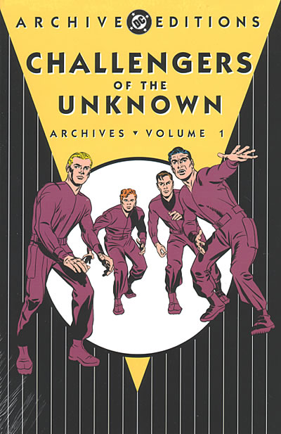 DC Archives - Challengers of the Unknown HC Vol. 1 NOV058160D