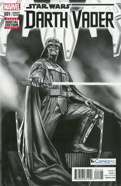 Darth Vader 1 ComicsPro Exclusive Variant Cover Edition
