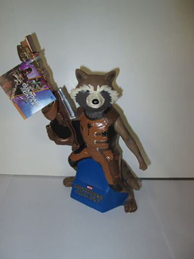 Guardians Of The Galaxy Rocket Raccoon Exclusive Figural Bank DC68149