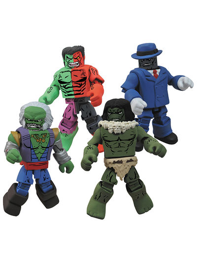 Marvel Minimates Hulk Through the Ages Set DEC121594U