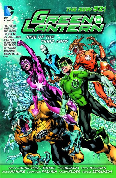 Green Lantern Rise Of The Third Army TPB DEC130302D