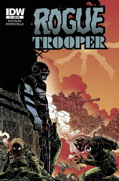 Rogue Trooper #1 (Subscription Variant)