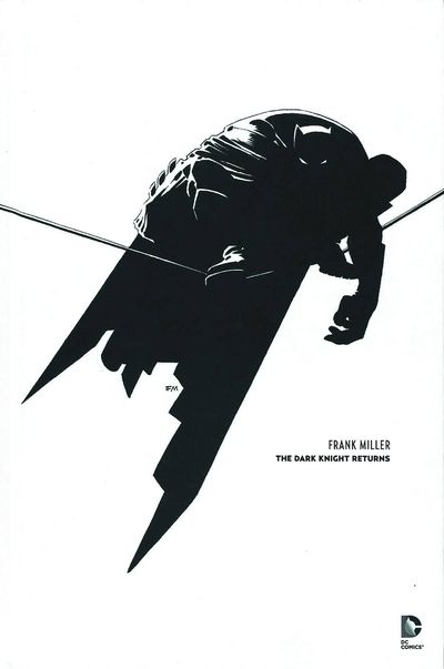 Batman Noir The Dark Knight Returns Deluxe Ed HC DEC140389D