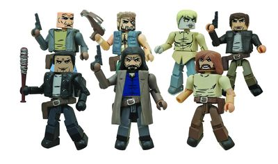 Walking Dead Minimates Series 7 Assortment DEC142212U