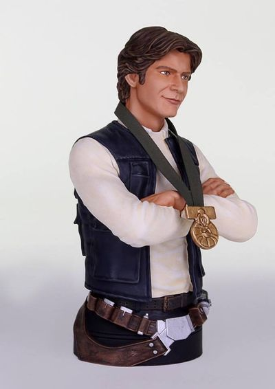 Star Wars Han Solo Hero Of Yavin Mini-bust DEC142334I