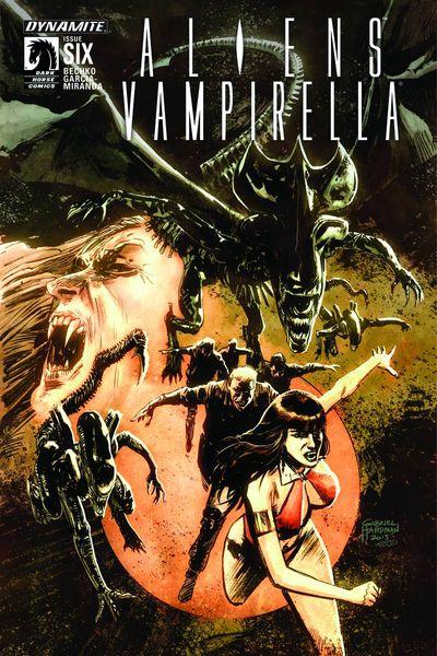 Aliens Vampirella #6 (of 6)