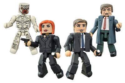 X-Files Classic Minimates Set DEC152117U