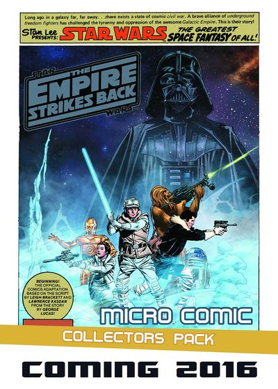 Empire Strikes Back Micro Comic Collectors Pack Display DEC152528J