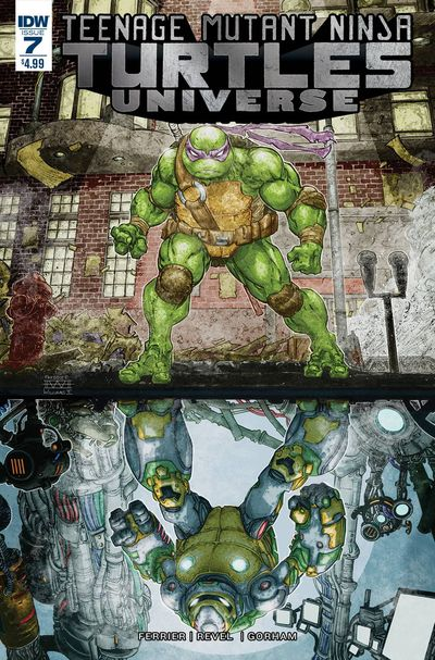 Teenage Mutant Ninja Turtles Universe #7 DEC160514E