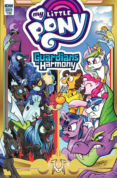My Little Pony Annual 2017 #1 DEC160560E