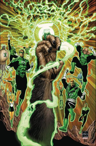 Planet of the Apes Green Lantern #1 DEC161345E
