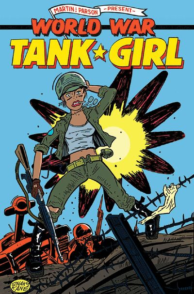 Tank Girl World War Tank Girl #1 (of 4) (Cover C - Kane)