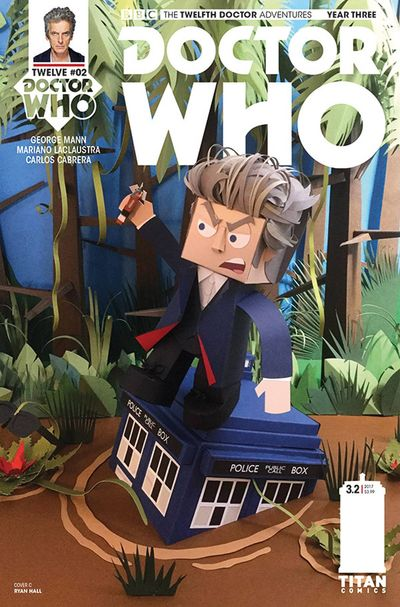 Doctor Who 12th Year 3 #2 (Cover C - Papercraft) DEC161924F
