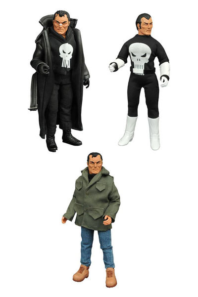 Marvel Punisher 8in Retro Action Figure Set DEC162577U
