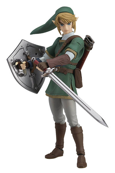 Legend of Zelda Twilight Princess Link Figma Action Figure (Deluxe Version) AUG168804I