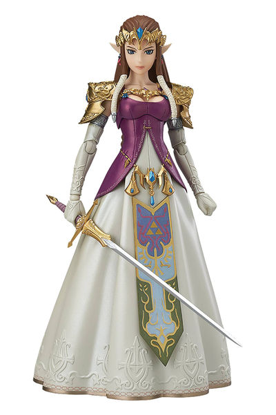Legend of Zelda Twilight Princess Zelda Figma Action Figure DEC163007U