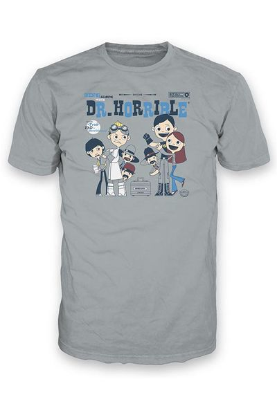 Image of Dr Horrible Sing Along T-Shirt XXXL